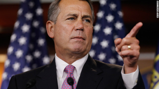 House Speaker John Boehner's 112th Congress has been the least productive of the past three, according to a CNN analysis.