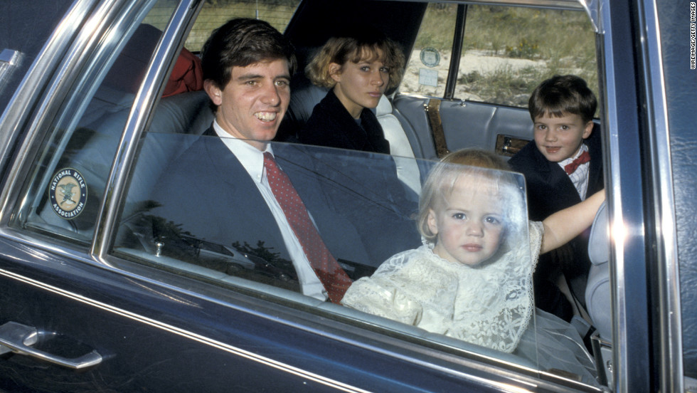 Michael Kennedy, one of RFK's 11 children, died in a skiing accident in Aspen, Colorado, in 1997. The father of three had suffered an onslaught of negative publicity over an alleged affair with a family babysitter. No charges were filed.