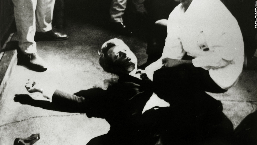 Varoufakis says his first memory of a U.S. election was hearing that Democratic frontrunner Robert F. Kennedy had been assassinated on the campaign trail in 1968.