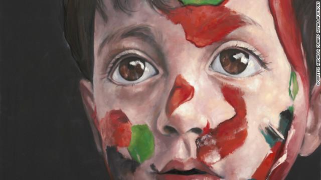 """""""Syrian Child"""" by Abdalla Omari of Syria"""