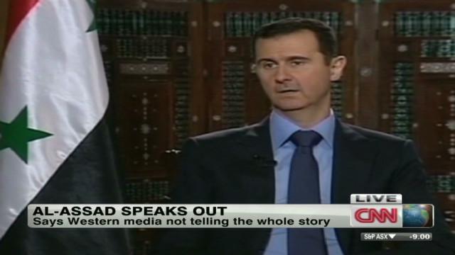 Syria's Assad accuses media of bias