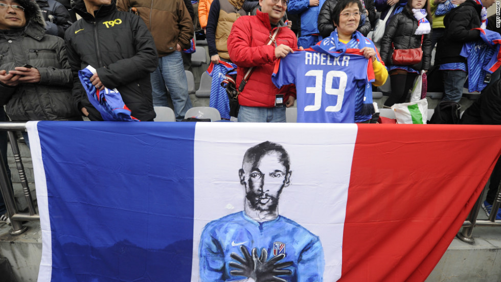 One highlight of Tigana's reign was the arrival of French striker Nicolas Anelka from Chelsea in January 2012. The 33-year-old enjoyed a prolific career across Europe, playing for clubs such as Arsenal, Real Madrid and Liverpool.