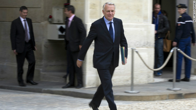 France's Prime Minister, Jean-Marc Ayrault has called for more  time for Greece.