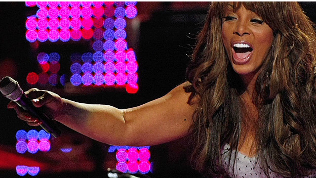 2008: Donna Summer's onstage inspiration