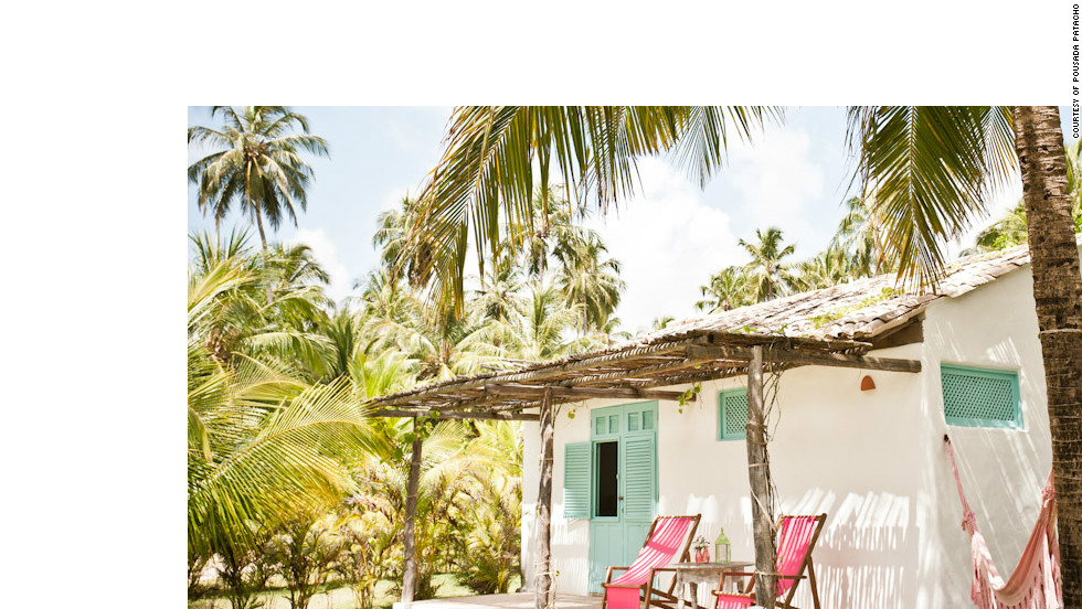"Brazil's Northeastern state of Alagoas is home to quiet beaches and Pousada Patacho -- a light-filled hotel with five rooms amid coconut palms and vine-draped terraces. Travel + Leisure: <a href=""http://www.travelandleisure.com/articles/best-affordable-beach-resorts/12"" target=""_blank"">See more affordable beach resorts</a>"