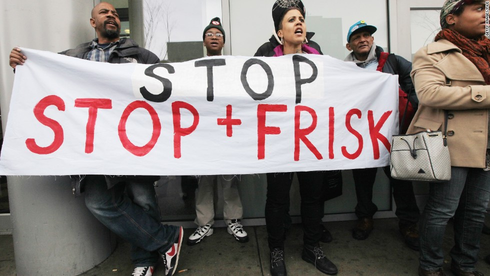 "<strong>August 2013:</strong> <a href=""http://www.cnn.com/2013/08/12/justice/new-york-stop-frisk"">A federal judge ruled NYPD's stop-and-frisk policy unconstitutional</a> and ordered it to be altered. It was found that it violated the Constitution in part by unlawfully targeting blacks and Latinos. <br /><br />""No one should live in fear of being stopped whenever he leaves his home to go about the activities of daily life,"" Judge Shira A. Scheindlin wrote. ""Those who are routinely subjected to stops are overwhelmingly people of color, and they are justifiably troubled to be singled out when many of them have done nothing to attract the unwanted attention.""<br /><br />In September, Judge Scheindlin denied the city's request to delay stop-and-frisk reforms. ""Ordering a stay now would send precisely the wrong signal,"" she wrote."
