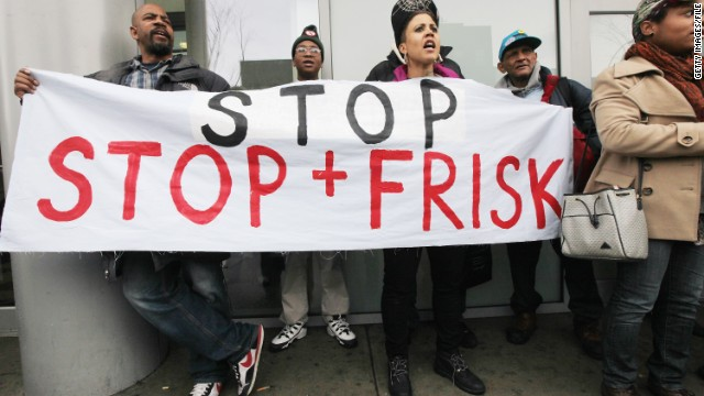 Judge: NYPD stop-and-frisk policy not OK