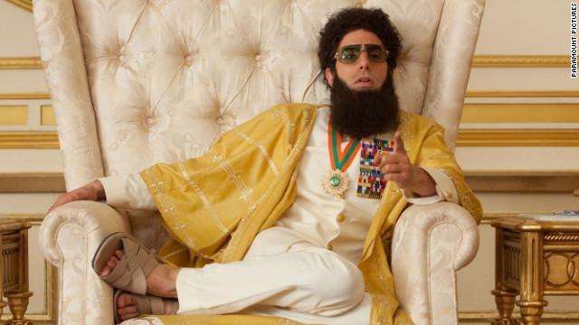 "Sacha Baron Cohen stars in ""The Dictator."""