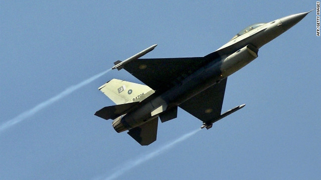 File photo of a Pakistani Air Force jet from March 20, 2005.