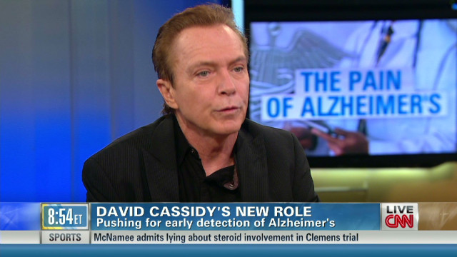 David Cassidy on his mom and Alzheimer's