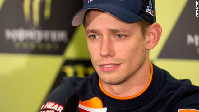 Australian MotoGP rider Casey Stoner has won the world championship twice since moving into the division in 2006.