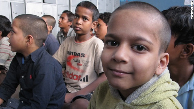 Salaam Baalak Trust offers shelter and classes for boys living on the streets of New Delhi.