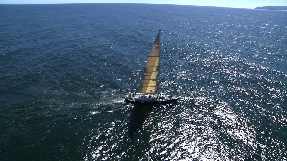The Algalita Marine Research Foundation and 5 Gyres' 2012 expedition is aboard the Sea Dragon, a 72-feet oceangoing yacht.