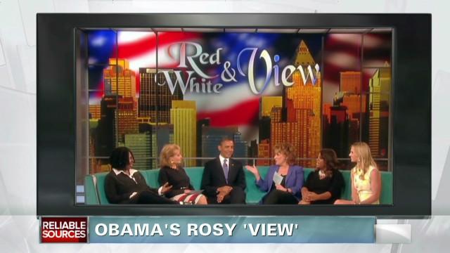 President Obama's rosy 'View'