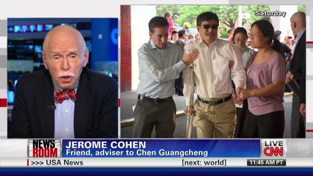 Activist Chen to begin NYU fellowship