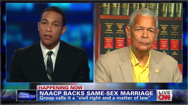 NAACP backs same-sex marriage