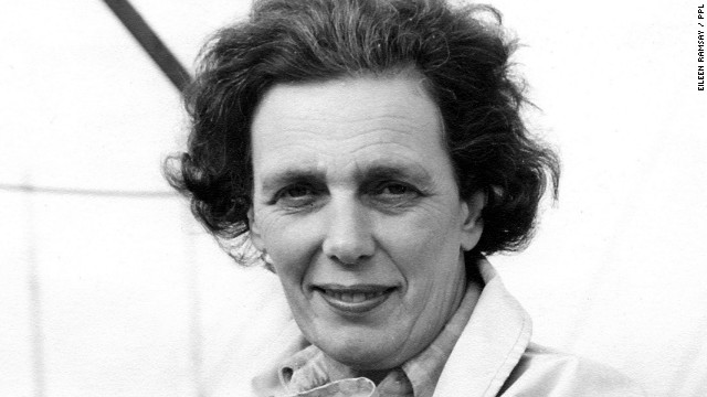 Photographer Eileen Ramsay pictured in 1963