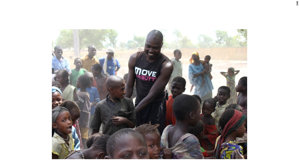 """""""What makes me the proudest is to see them smile, dance and laugh,"""" says Ahmed."""