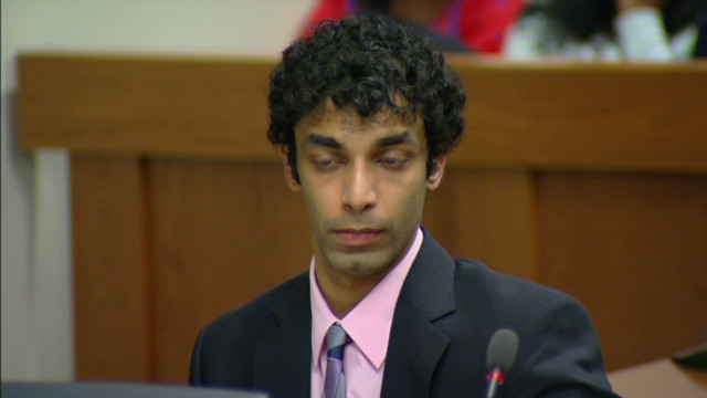 Judge reads Ravi sentence, mother weeps