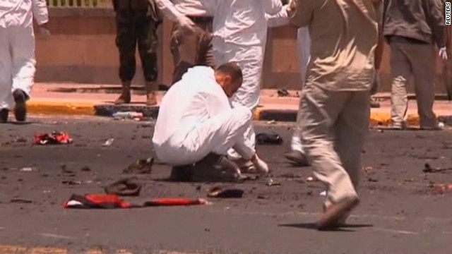 Bloodiest suicide bombing shocks Yemen