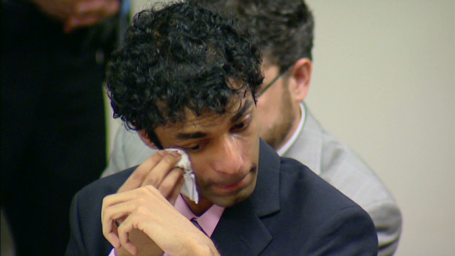 Ravi breaks down during mom's plea