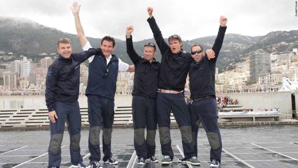"It took the crew 585 days to sail around the world. The ""Turanor"" already held the Guinness World Record for the world's largest solar-powered boat and managed to set four more records in the course of its voyage."