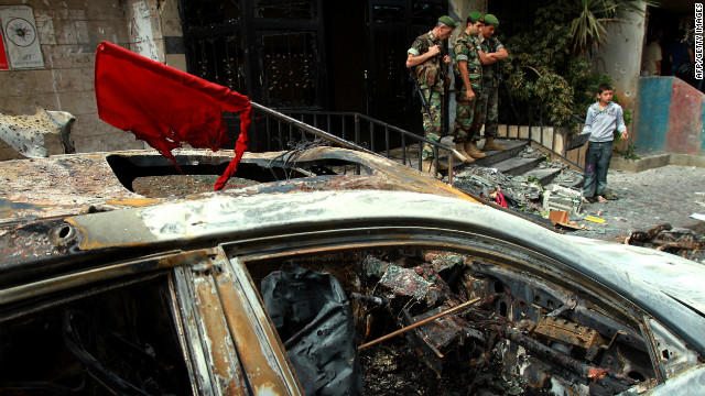 Beirut gun battle sign of Syria spillover