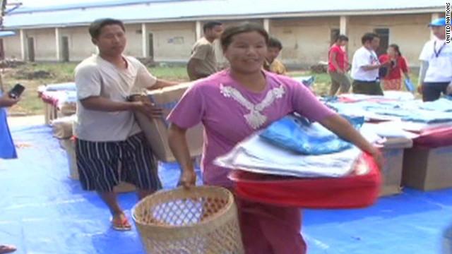 Fighting threatens Myanmar's displaced