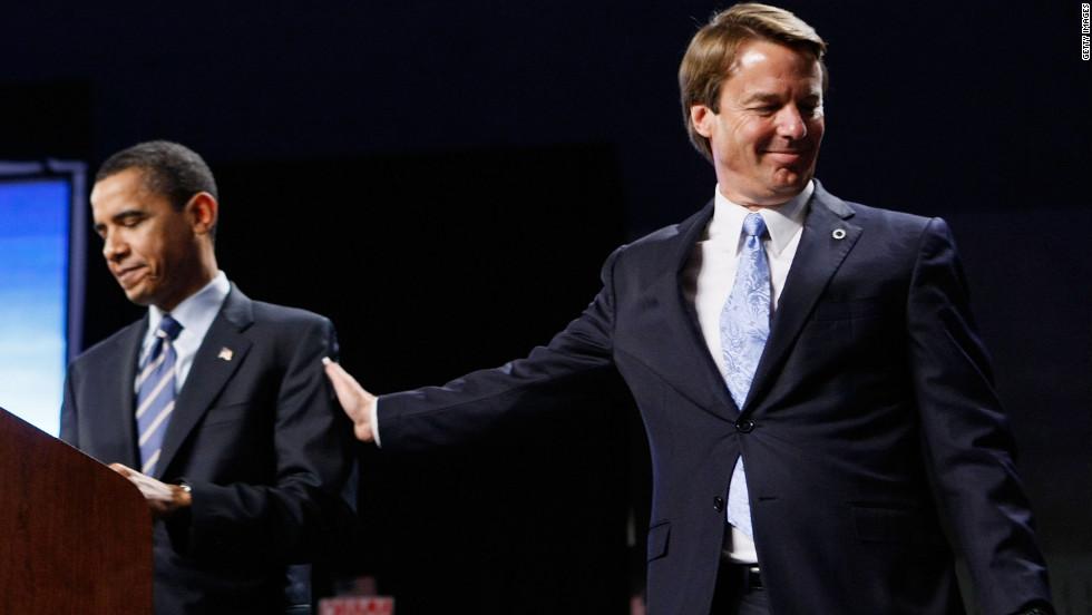 Edwards endorsed Barack Obama after Hillary Clinton won the West Viriginia primary.