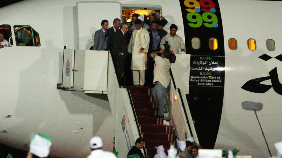 The hero's welcome given to al Megrahi in Libya after his early release from jail caused outrage among victims' families.