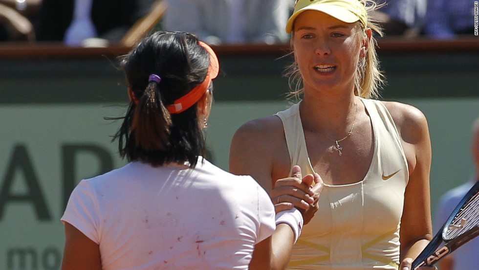 The one thing separating Sharapova from a career grand slam is the French Open title. She has twice made the semifinals, most recently in 2011, when she was beaten by eventual winner Li Na of China.