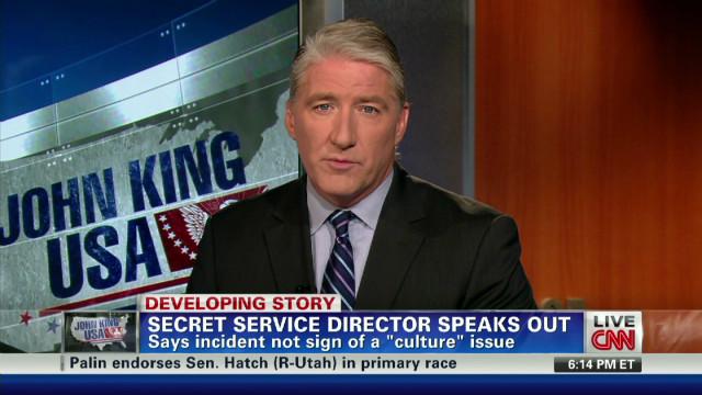 Secret Service Director Speaks out