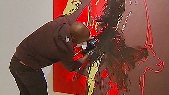 Zuma Painting Controversy Risqué Zuma Painting