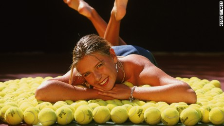 Maria Sharapova turned professional on her 19th birthday in April 2001, having played the game since she was four years old. She is now one of the highest earning stars in the sporting world.