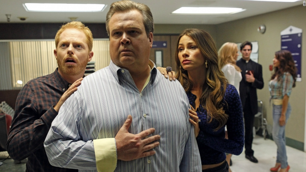 "<strong>Outstanding performance by an ensemble in a comedy series: </strong>""Modern Family"""