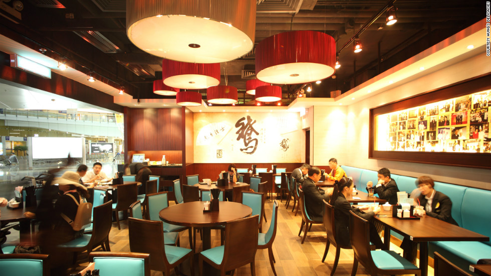 Hung's Delicacies, in Terminal two of Hong Kong International Airport, is a branch of the Michelin-starred side-street Chinese bistro of the same name. Hong Kong was named the world's best airport for its restaurant offerings at this year's Skytrax awards.