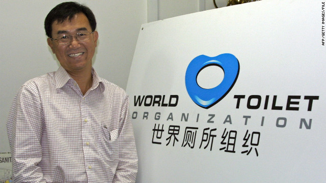 World Toilet Organization founder Jack Sim, pictured in 2007, says poor sanitation can be deadly.