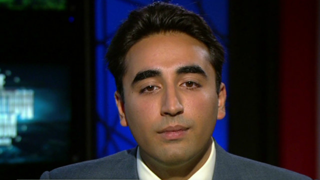 Son blames Musharraf for Bhutto's death