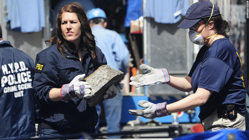On April 20, 2012, New York police and FBI agents removed concrete slabs from a basement in search of clues in the 33-year-old disappearance of Etan. The basement is about a half-block from where the boy's family still lives.