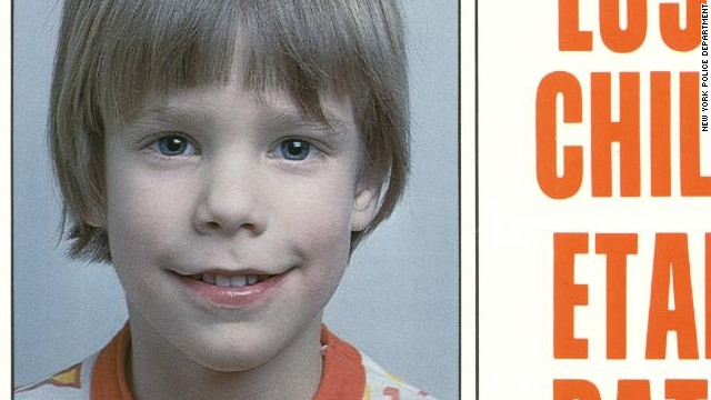 Etan Patz was 6 years old when he disappeared in 1979.