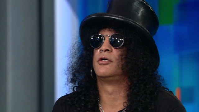 Slash's last words to Axl
