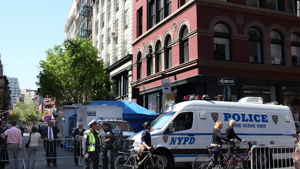 After more than 30 years, a break in the case appeared to develop in April 2012 when police closed off two blocks in New York's SoHo neighborhood and searched a basement in the area for clues. But the search came up empty.