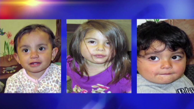 Three kids found abandoned in shed