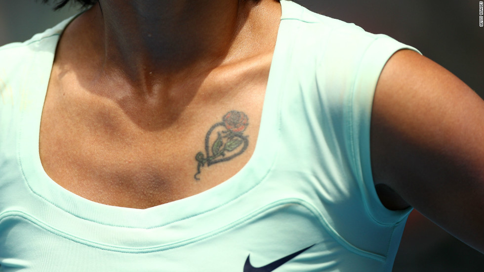 Li, who wears a rose tattoo on her chest, became the first Chinese woman to win a WTA tournament in 2004.
