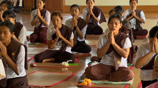 Myanmar embraces spiritual tourists