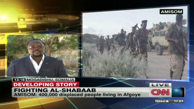 New push against militants in Somalia