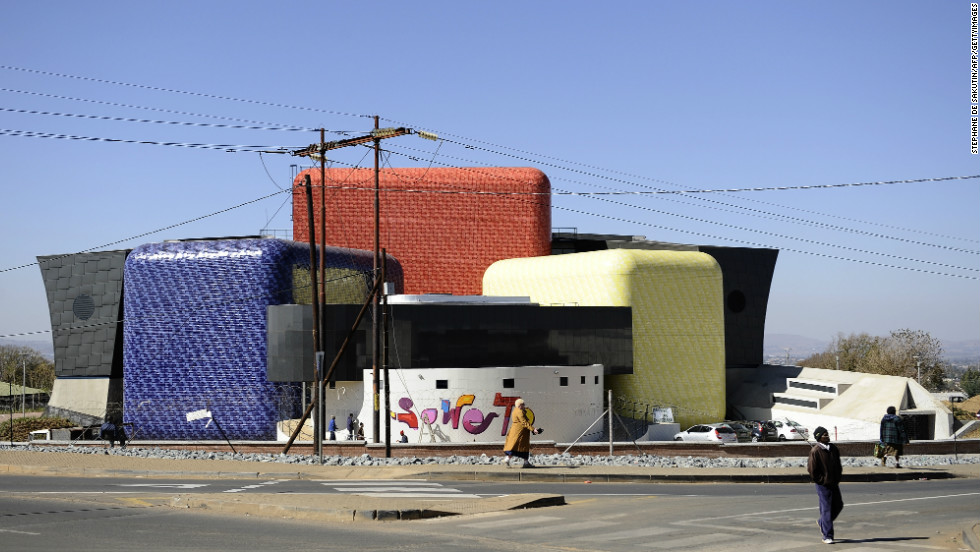 The new Soweto Theater is a symbol of Johannesburg's rejuvenation. The US$18 million project aims to bring world-class drama to the heart of the historically disadvantaged township on the outskirts of Johannesburg.