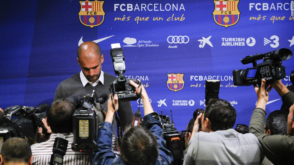 "But for months there had been rumors that the demands of the job and those he placed on himself were wearing Guardiola down. After Barcelona had relinquished both their league and Champions League titles, he confirmed he was standing down. ""The reason is simple: four years is enough,"" he said. ""I'm drained and I need to fill up."""