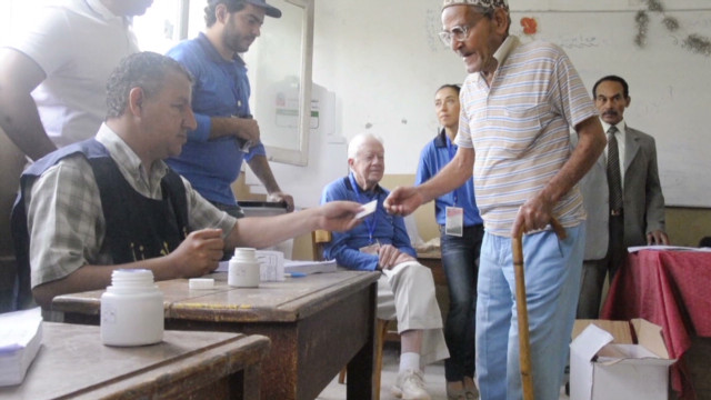 Ballot count continues in Egypt