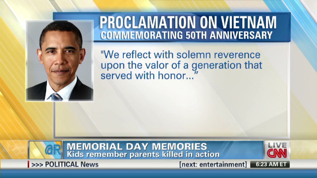 Kids remember parents killed in action